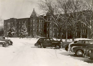 Alumni Hall in Winter (c. 1946-1948)