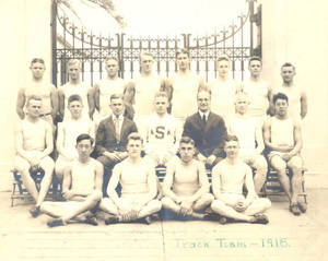 1918 Track and Field Team