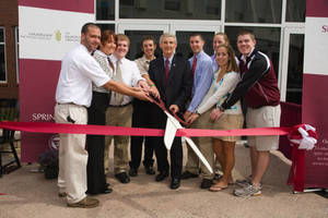 Ribbon-Cutting Ceremony: Wellness Center, Field House, and Athletic Training/ Exercise Science Complex