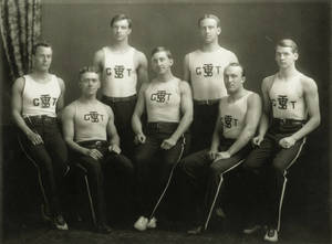 Early Men's Gymnastics Team