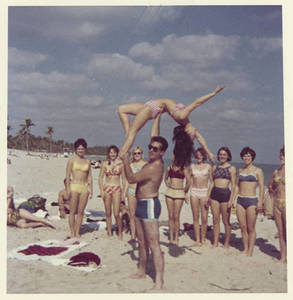 Gymnasts at the beach (Summer 1966)