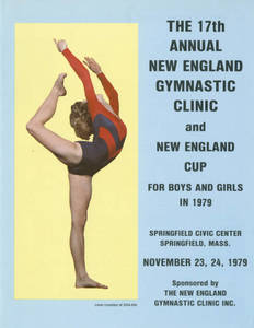 17th Annual New England Gymnastic Clinic pamphlet (November 1979)