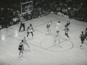 Scenes Springfield College Men's Basketball games (c. 1970-1971?)