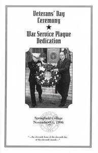 Veteran's Day Program (1996)