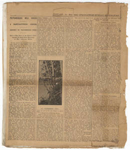 Picturesque Mill River, Republican newspaper article (January 11, 1914)