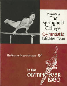 Gymnastics Exhibition Team Program (1960)