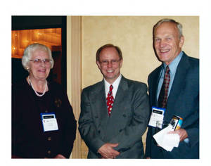 David Halbe Brown at YMCA Hall of Fame induction ceremony (2003)