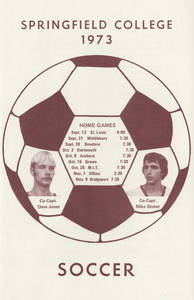Men's Soccer Brochure (1973)