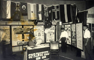 Exhibit of the International YMCA College at the YMCA World Conference, 1931