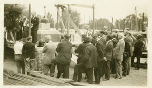Alumni Hall's cornerstone ceremony (1926)