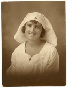Letitia Crane in her Red Cross uniform