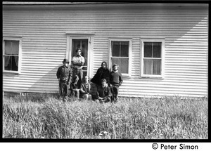 Original crew at Packer Corners Farm on the day they bought the place