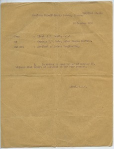 Letter from Lloyd E. Walsh to Fred B. Bate