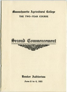 Second commencement