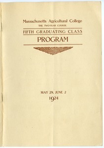 Fifth graduating class: Program