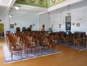 Adams Free Library: Grand Army of the Republic Memorial Hall