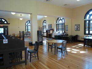 Athol Public Library: reading room