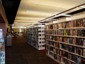Athol Public Library: book stacks