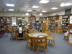 Adams Free Library: Children's area