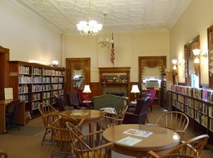 Adams Free Library: Public area
