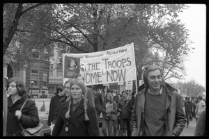 Vote With your Feet anti-Vietnam War protest march