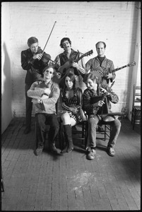 Jim Kweskin Jug Band posed for a group portrait