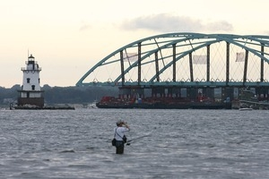 IWAY Providence River Bridge travels up the Providence River Conimicut Point