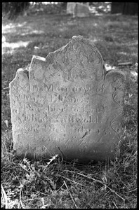 Gravestone of Eleanor Griswold (1787), Old Poquonock Burying Ground