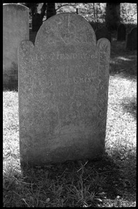 Gravestone of infant daughter of Ens. Nathaniel Griswold (1753), Old Poquonock Burying Ground