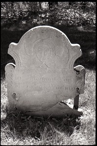 Gravestone of Fredrick Winthrup, Old Poquonock Burying Ground