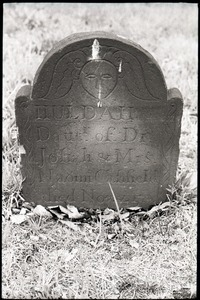 Gravestone of Huldah Canfield (1777), Old Derby Uptown Burying Ground