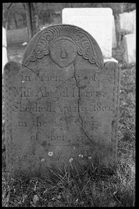 Gravestone of Abigail Harris (1802), Torringford Cemetery