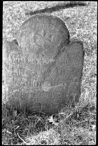 Gravestone of James Johnson (1790), Town Hill Cemetery