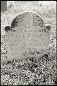 Gravestone of John French Smith (1781), Old Derby Uptown Burying Ground