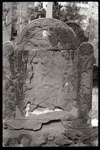 Illegibile gravestone, Ancient Burying Ground