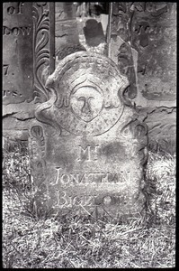 Foot stone of Jonathan Bigelow (1779), Ancient Burying Ground