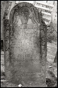 Gravestone of Daniel Goodwin (1772), Ancient Burying Ground