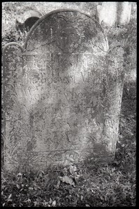 Gravestone for John Warner (1750), Second Cemetery
