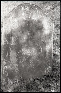 Gravestone for Mehetable Brainerd, died of smallpox (1771), Second Cemetery