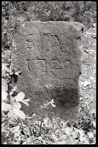 Field gravestone for Stephen Ackley (1720), Old Cove Burying Ground
