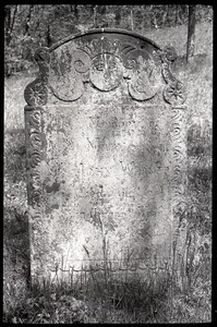 Gravestone for Mary Warner (1791), Second Cemetery