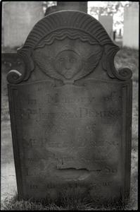 Gravestone for Jerusha Deming (1789), Wethersfield Village Cemetery