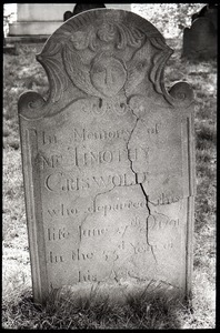 Gravestone for Timothy Griswold (1791), Wethersfield Village Cemetery