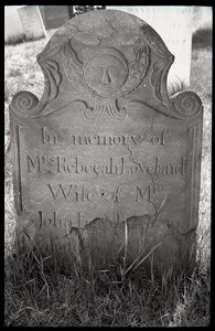 Gravestone for Rebecah Loveland (1801), Wethersfield Village Cemetery