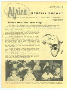 Africa special report, volume 1, number 6