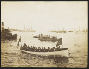 President Harrison Landing in Boston