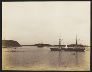 U.S. Squadron At Bar Harbor