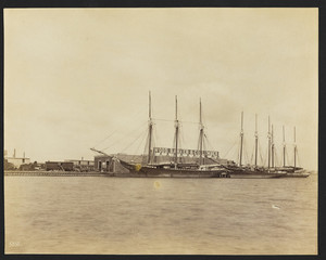 Schooners at dock