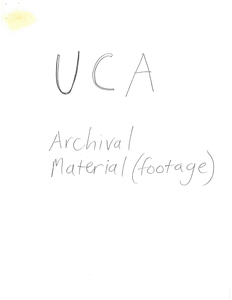 List of archival video footage featuring the priests murdered at the University of Central America (UCA), version 1