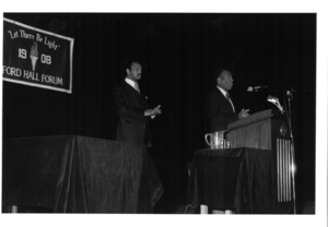 Photograph of Jesse Jackson and David S. Nelson, 1983